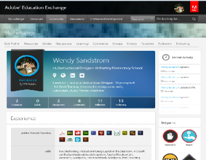 Adobe Ed Ex profile